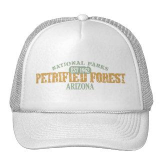 Parque nacional del bosque aterrorizado gorro de camionero