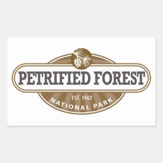Parque nacional del bosque aterrorizado rectangular altavoz