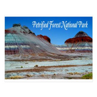 Parque nacional del bosque aterrorizado, postal de