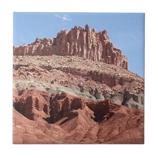 Parque nacional del filón del capitolio, Utah, los Azulejo Cuadrado Pequeño