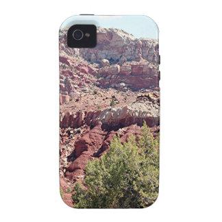 Parque nacional del filón del capitolio, Utah, los Vibe iPhone 4 Carcasa