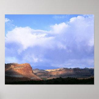 Parque nacional del filón del capitolio, Utah. LOS Impresiones