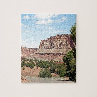 Parque nacional del filón del capitolio, Utah, los Rompecabeza Con Fotos