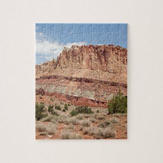 Parque nacional del filón del capitolio, Utah, los Rompecabezas