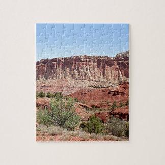 Parque nacional del filón del capitolio, Utah, los Rompecabezas Con Fotos