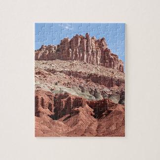 Parque nacional del filón del capitolio, Utah, los Rompecabeza