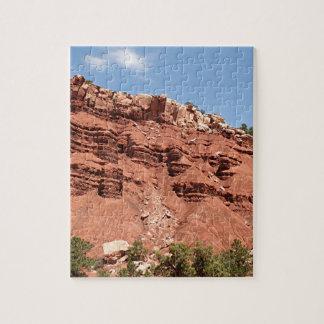 Parque nacional del filón del capitolio, Utah, los Puzzle