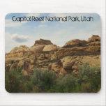 Parque nacional del filón del capitolio, Utah Alfombrillas De Ratones