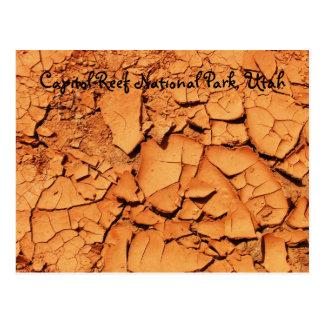 Parque nacional del filón del capitolio Utah Postales