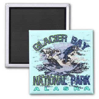 Parque nacional del Glacier Bay Alaska Imán De Nevera