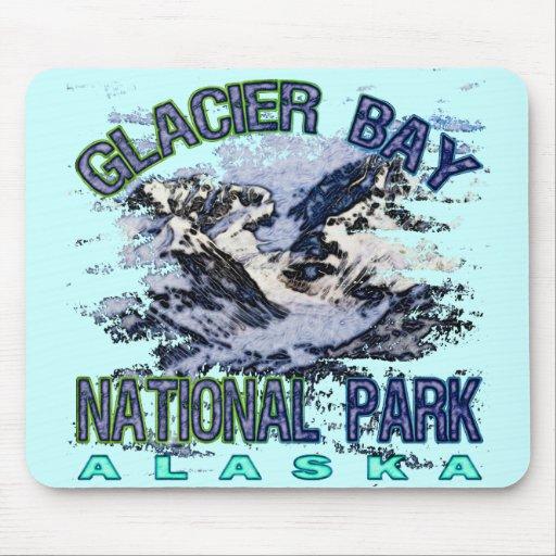 Parque nacional del Glacier Bay, Alaska Tapete De Ratón