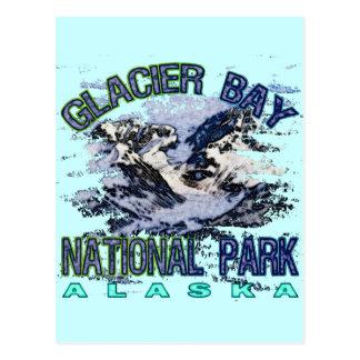 Parque nacional del Glacier Bay, Alaska Tarjetas Postales