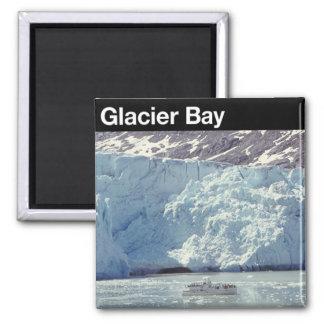 Parque nacional del Glacier Bay Imán Cuadrado