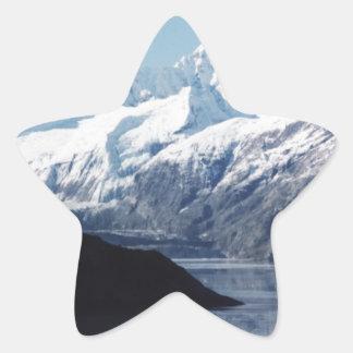Parque nacional del Glacier Bay Pegatina En Forma De Estrella