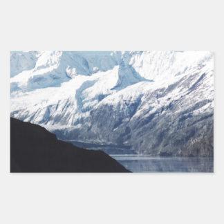 Parque nacional del Glacier Bay Pegatina Rectangular