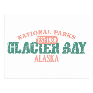 Parque nacional del Glacier Bay Postales