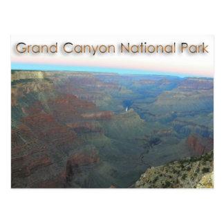 Parque nacional del Gran Cañón 7/13 predawn/salida Postal