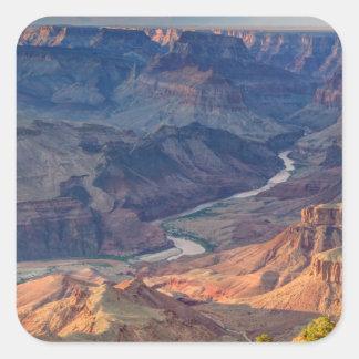 Parque nacional del Gran Cañón, Ariz Calcomanías Cuadradass Personalizadas