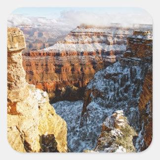 Parque nacional del Gran Cañón, Arizona, los Calcomania Cuadrada Personalizada