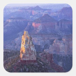 Parque nacional del Gran Cañón, Arizona, los Calcomania Cuadradas