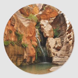 Parque nacional del Gran Cañón, Arizona Pegatinas Redondas