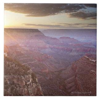Parque nacional del Gran Cañón en Arizona Azulejo Cuadrado Grande
