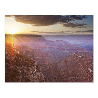 Parque nacional del Gran Cañón en Arizona Tarjeta Postal