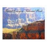 Parque nacional del Gran Cañón escénico Tarjetas Postales