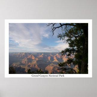 Parque nacional del Gran Cañón Poster