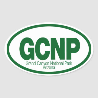 Parque nacional del Gran Cañón Colcomanias Ovaladas Personalizadas