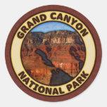 Parque nacional del Gran Cañón Pegatinas Redondas