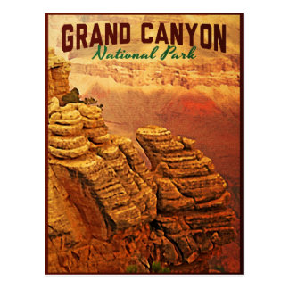 Parque nacional del Gran Cañón Tarjeta Postal