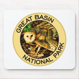 Parque nacional del gran lavabo alfombrilla de raton