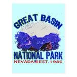 Parque nacional del gran lavabo, Nevada Postal