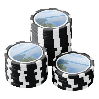 Parque nacional del lago crater fichas de póquer