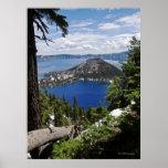 Parque nacional del lago crater - isla del mago impresiones