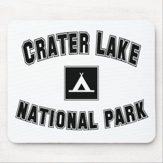 Parque nacional del lago crater mouse pad
