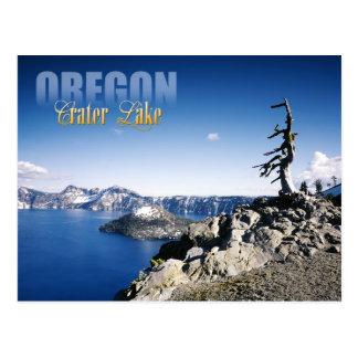 Parque nacional del lago crater, Oregon Tarjetas Postales