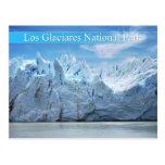 Parque nacional del Los Glaciares, la Argentina Postal