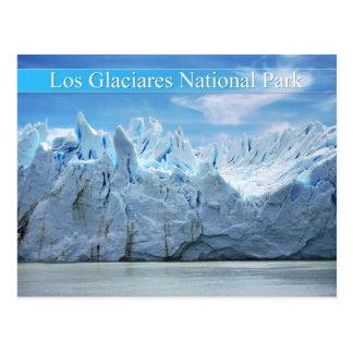 Parque nacional del Los Glaciares, la Argentina Postales
