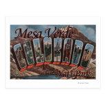 Parque nacional del Mesa Verde, Colorado Postal