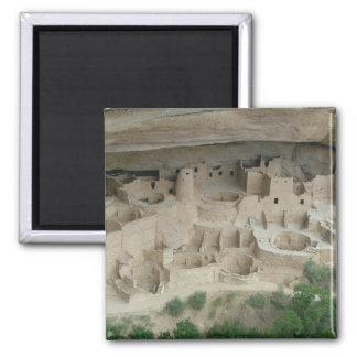 Parque nacional del Mesa Verde Imán Cuadrado