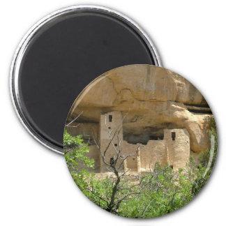 Parque nacional del Mesa Verde Imán Redondo 5 Cm