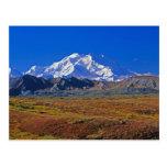 Parque nacional del monte McKinley Denali, Alaska Postales