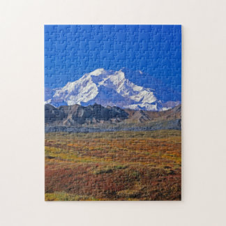 Parque nacional del monte McKinley Denali, Alaska Rompecabeza Con Fotos