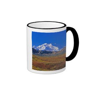 Parque nacional del monte McKinley Denali, Alaska Taza De Dos Colores