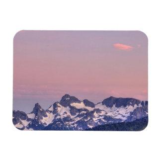Parque nacional del Monte Rainier glaciares de Sa Iman Flexible