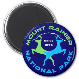 Parque nacional del Monte Rainier Imanes Para Frigoríficos
