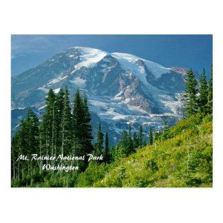 Parque nacional del Monte Rainier Tarjetas Postales