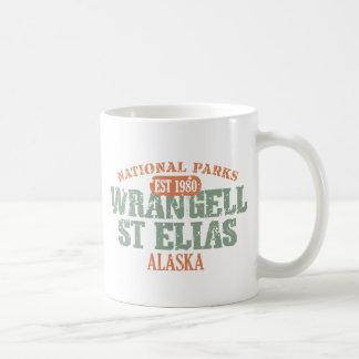 Parque nacional del St Elias de Wrangell Tazas